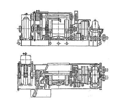 Буровые лебедки ЛБУ-1200,