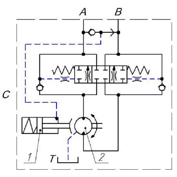 Гидравлическая схема ЛВС-1Г
